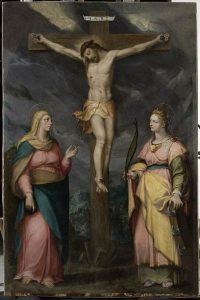 Christ-en-croix-entre-la-Vierge-et-sainte-Catherine-d-Alexandrie_reference
